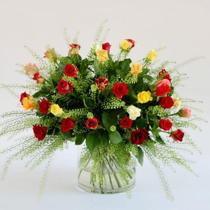 חגיגת ורדים בצבעים